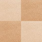 Novo xadrez tapete bege textura — Foto Stock
