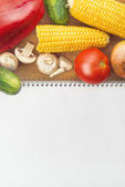 Healthy eating - vegetable recipe — Stock Photo