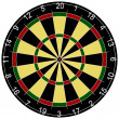 3d Render of a Dartboard — Stock Photo
