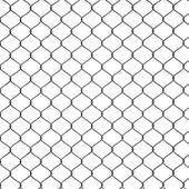 3d Render of a Chain Link Fence — Stock Photo