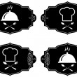 Cooking symbols, vector collection - Stock Vector
