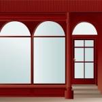 Shop window — Stock Vector #18542623
