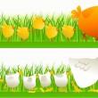 Spring walking — Stock Vector