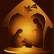 Nativity scene — Stock Vector #30374983