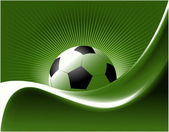 Football background — Stock Vector