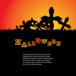 Fondo Halloween — Vector de stock #12585547