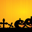 Fondo Halloween — Vector de stock #12585548