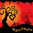 Fondo Halloween — Vector de stock #12585552