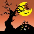 图库矢量图片: Halloween Background