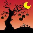 Halloween karty — Wektor stockowy