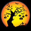 Royalty-Free Stock Vektorgrafik: Halloween Card