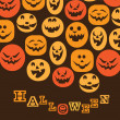 Halloween Backdrop — Stock Vector #12585586