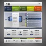 Website Design — Stock Vector #12711031