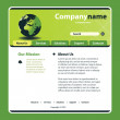 Website Template Vector - Stock Vector