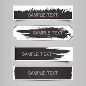 Tag, Label or Banner Designs — Stock Vector