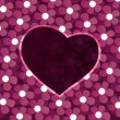 Hearts Background Vector — Vector de stock