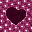 Векторный фон сердца — Cтоковый вектор