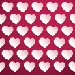 Hearts Background for Valentine's Day — Stock Vector