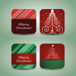 Christmas Flyer or Cover Design — Stock Vector