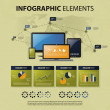 Vector Set of Infographic Elements — Stock Vector #27713963