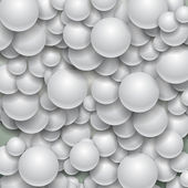 Abstract Background - Spheres — Stock Vector