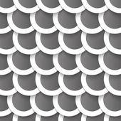 Vettoriale astratto - cerchi con ombre — Vettoriale Stock