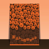 Halloween Flyer or Cover Design — Vettoriale Stock