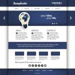 Website Template — Stock Vector #28337413