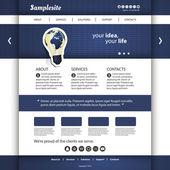 Website sjabloon — Stockvector