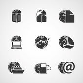 Icon Set - Business, IT, Media, Everyday Life — Stock Vector