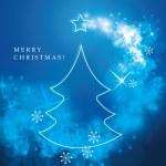 Christmas Flyer or Cover Design — Stock Vector