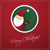 Christmas Card Background — Stock Vector