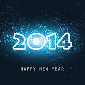 New Year Card, Cover or Background Template - 2014 — Vetorial Stock