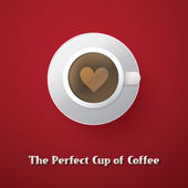 I Love Coffee - Coffee Cup Illustration — Stockvector