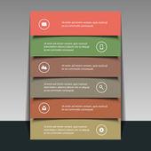 Progettazione volantino o copertura per il tuo business — Vettoriale Stock