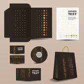 信纸模板,企业形象设计 — 图库矢量图片