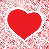Hearts Background Vector — Stock Vector