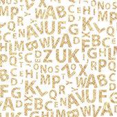 Alphabet Background Vector — Stock Vector