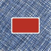 Grußkartenvorlage — Stockvektor