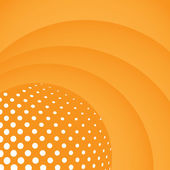 Orange Wallpaper Background — Stock Vector