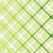 Stock Vector: Green Squares Seamless Pattern