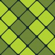 Stock Vector: Seamless Green Squares Wallpaper