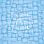 Blue Vector Squares Background — Stock Vector