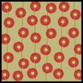 Poppy Background — Stock Vector