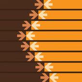 Arrows Background — Stock Vector