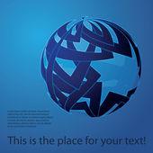 世界中のデザインのベクトル — ストックベクタ