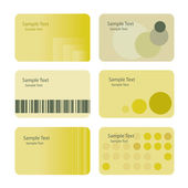 Business Card Backgrounds — Stock Vector