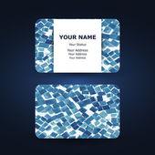 Business Card Template — Stockvektor