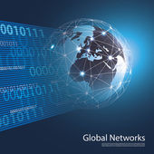 Global Networks - EPS10 Vector for Your Business — Vettoriale Stock