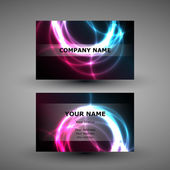 Business Card Design — Stock Vector